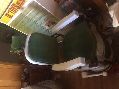 Antique Koken  Barber's Chair