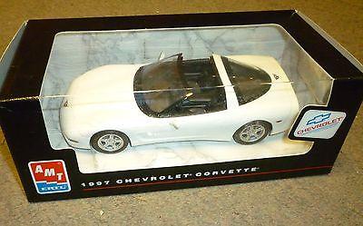 AMT/ERTL 1997 CORVETTE COUPE PROMO ARCTIC WHITE - new in box
