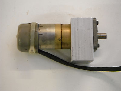 DC Motor with Gearbox 24VDC (2108)