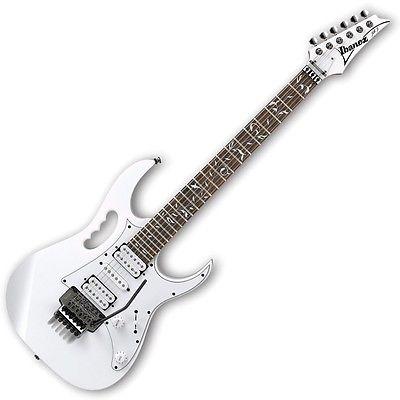 Ibanez JEMJR WH Steve Vai Signature Series Electric Guitar White Finish