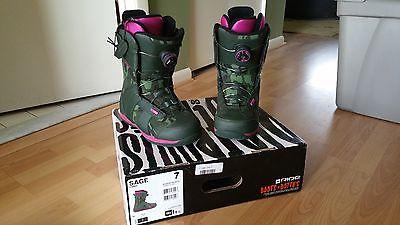 Ride Sage Women's Snowboard Boots Size 7