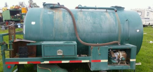 Vacuum tank for truck, sewer, black grey water