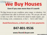 We Buy Houses CASH FAST! Chicago and Surrounding Counties