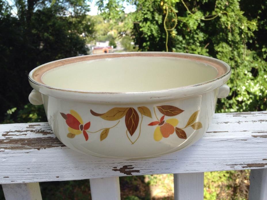 Vintage Hall's Superior Quality Kitchenware Casserole Dish
