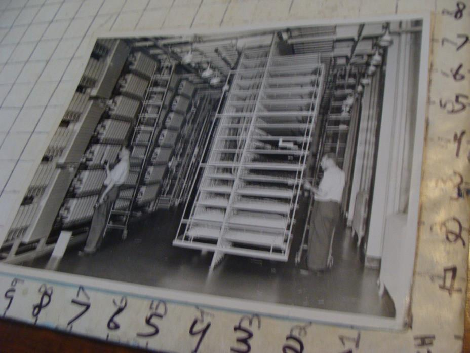 vintage Telephone Photo: 1948 the stacks