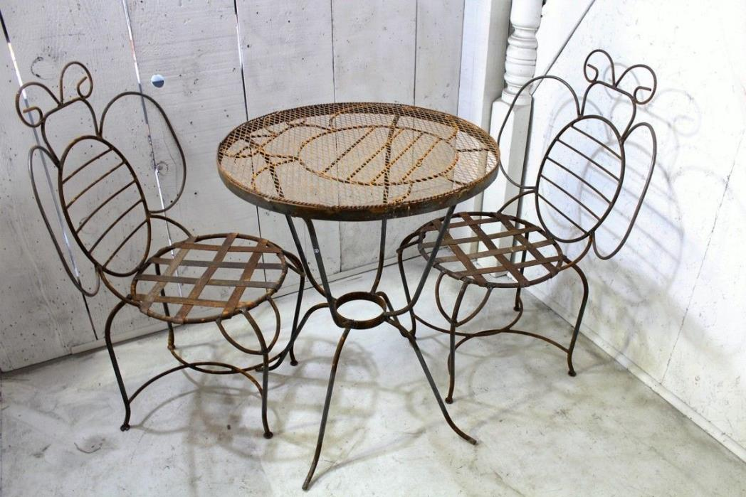 Vintage Wrought Iron Patio Furniture For Sale Classifieds