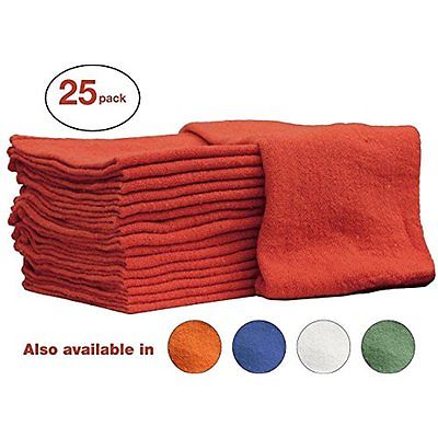 Drying Pads Auto-Mechanic Shop towels, Rags by Nabob Wipers 100% Cotton Grade 25