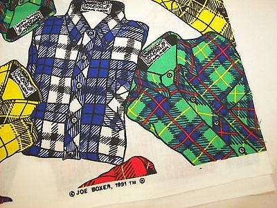 1991 Joe Boxer Cotton Fabric - 1  8/9 Yard x 45