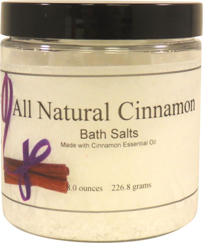 All Natural Cinnamon Bath Salts