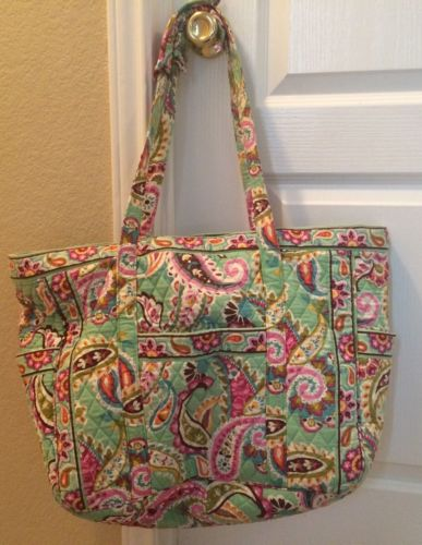 Vera Bradley Get Carried Away Tote In Tutti Frutti Design