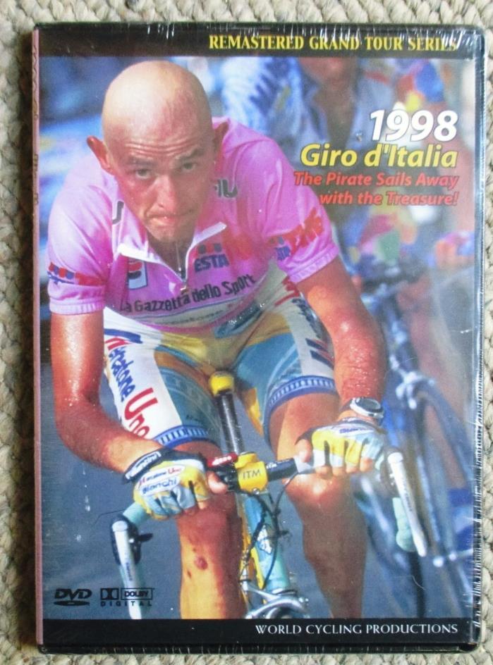 1998 Giro d'Italia World Cycling Productions DVD New/Sealed Marco Pantani LOT