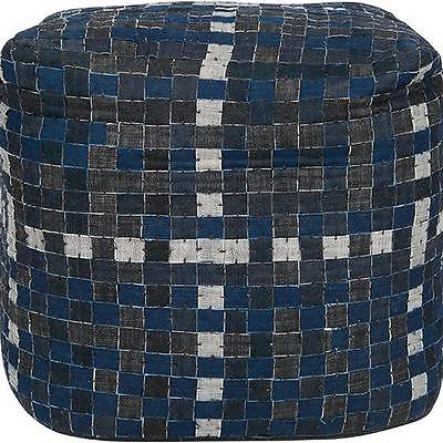Home Decorators Collection Checkerboard Pouf