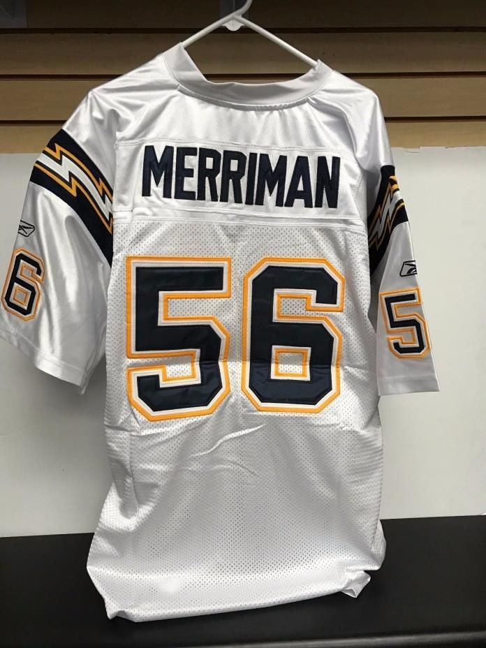 Shawn Merriman San Diego Chargers NFL Equipment Jersey size 54