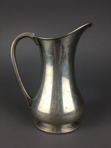 Abercrombie & Fitch Early 20th c. English Pewter Pitcher
