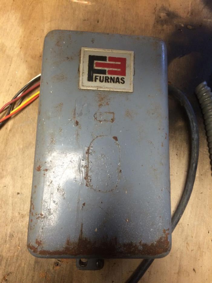 Furnas  Magnetic Starter 240/480/600 volt 30amp 16cc1044100
