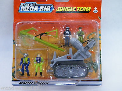 Matchbox System Mega-Rig Jungle Team #38254  1999 NEW IN BOX