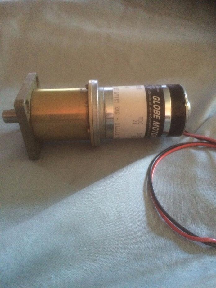 Globe Motors Part Number 407A  VDC 24