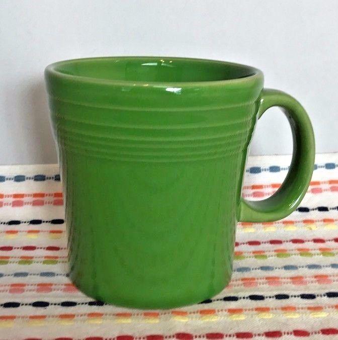 Fiestaware Shamrock Tapered Mug - HLC Fiesta Green 15 Oz Mug