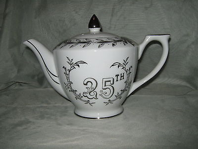 Lefton 25th Anniversary Teapot
