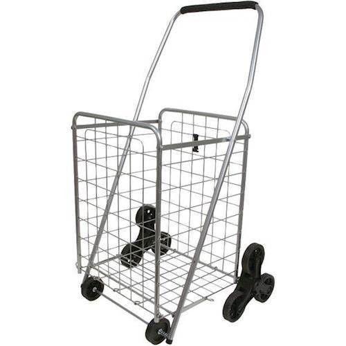 3-Wheel Stair-Climbing Folding Cart