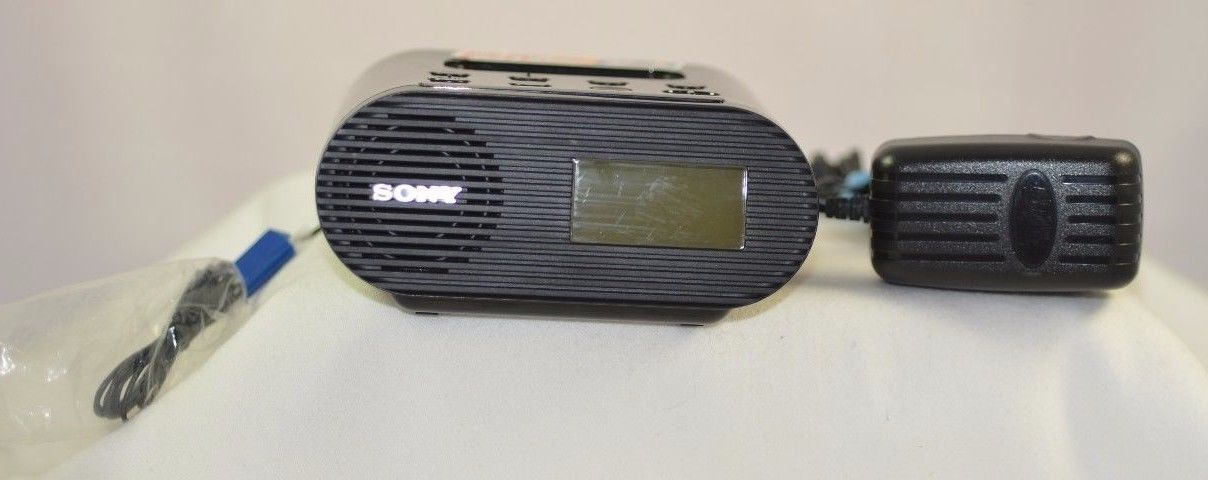 Sony ICF-C05iP Clock Radio for IPOD & IPHONE TESTED FAST-FREE SHIPPING