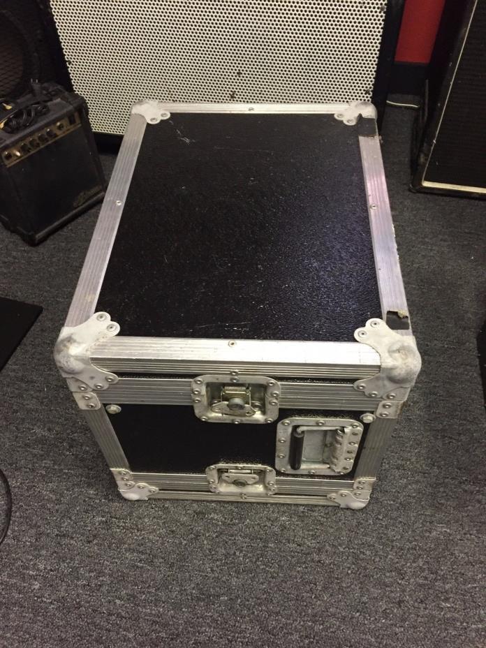 8 Space 8 Sp 8u Plywood & Metal ATA Amp Rack Rack Effect Case Used Poss Calzone?