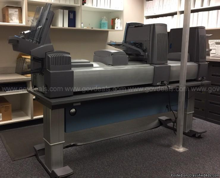 Pitney Bowes Di 950 Folder/Envelope Inserter