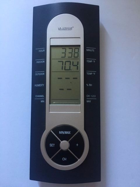 LOOSE WS-7212U La Crosse Technology Wireless Weather Station Display Only