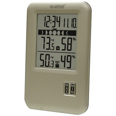 La Crosse Technology Wireless Weather Station With Indoor And Outdoor Temperatur