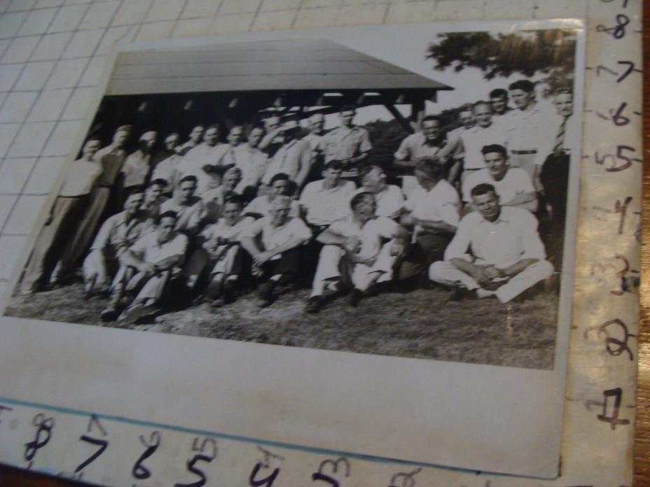 vintage Telephone Topics Photo: 1947 TELEPHONE MENS CLUB--Holyoke Ma.
