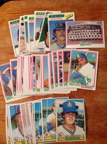 450+ Seattle Mariners Baseball Card Lot (50+ Randy Johnson + 20 Ken Griffey) SI