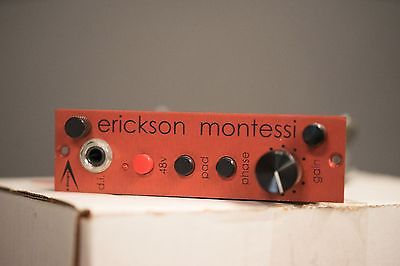 A Designs EM Red 500 Series Mic Preamp Excellent condition!
