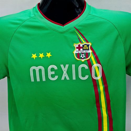 Assoc Futbol De Mexicano Soccer #11 Mexico Sports XL Youth Jersey Shirt Green