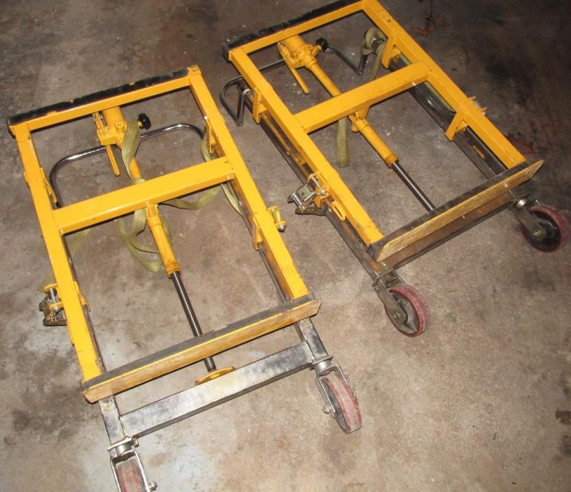 Electrical Contractor Hydraulic Large Wire Spool Jack Stand Lift