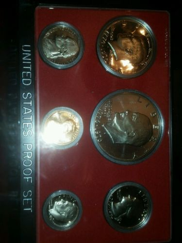 1976 USA complete proof set mint coins