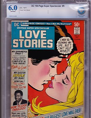 Dc 100 Page Super Special  5      CBCS  6.0    Scarce DC 1971 Love Comic