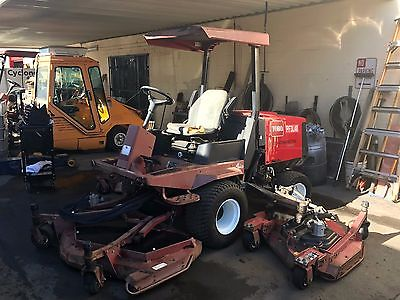 Toro Groundsmaster 4000D Batwing 11 Ft Rotary Ride On Diesel Lawn Mower 2657 hrs