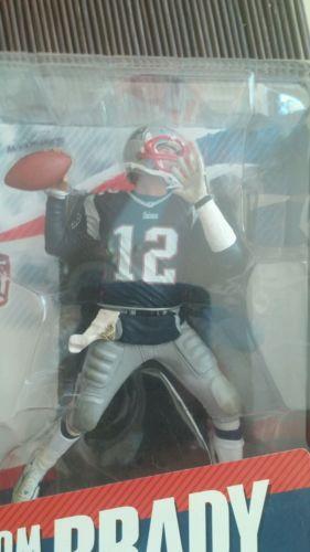 TOM BRADY, NFL 11, BLUE JERSEY MCFARLANE, NEW ENGLAND PATRIOTS
