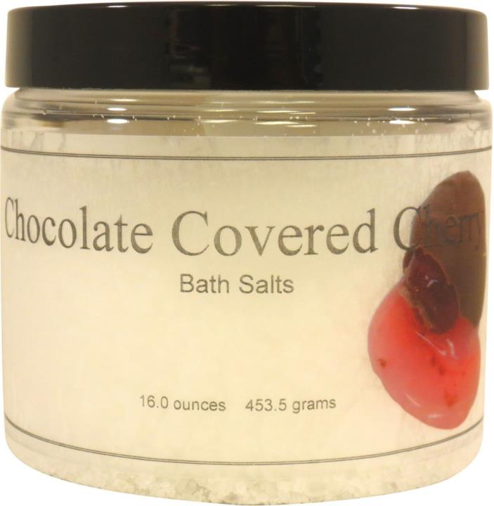 Chocolate Covered Cherry Bath Salts