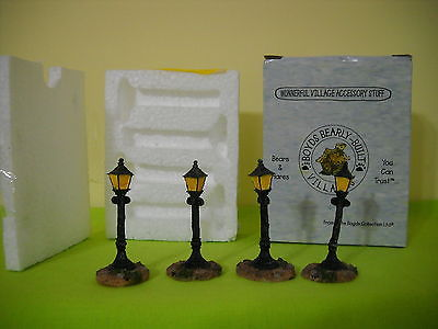 BOYDS VILLAGE ACCESSORY TOWN GAS & ELECTRIC CO.  STYLE #19805 4-STREE LIGHTS