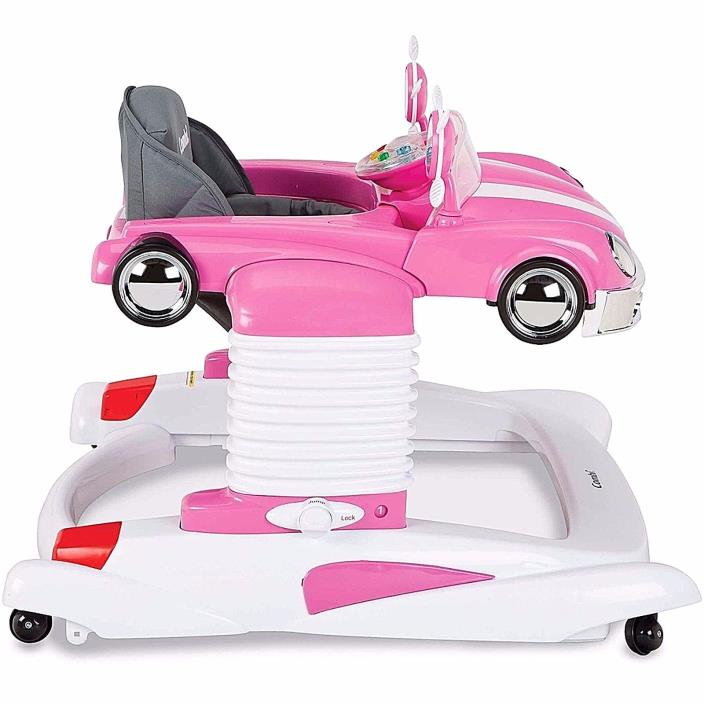 Combi All-in-One Baby Activity Walker Car Mobile Entertainer Jumper New Pink