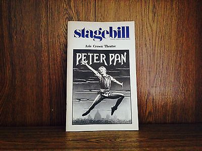Peter Pan Stagebill (playbill) Arie Crown Theatre,May 1981 with Sandy Duncan