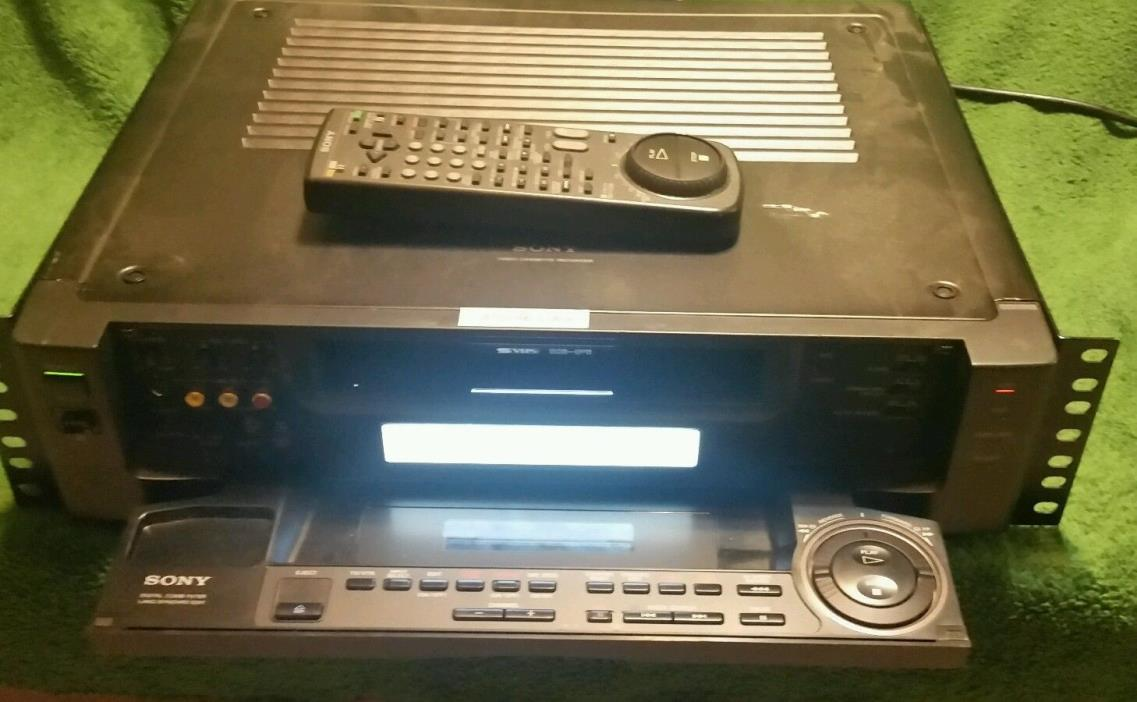 Sony SVO-2000 Super S-VHS SVHS Player Recorder HiFi Stereo VCR Deck