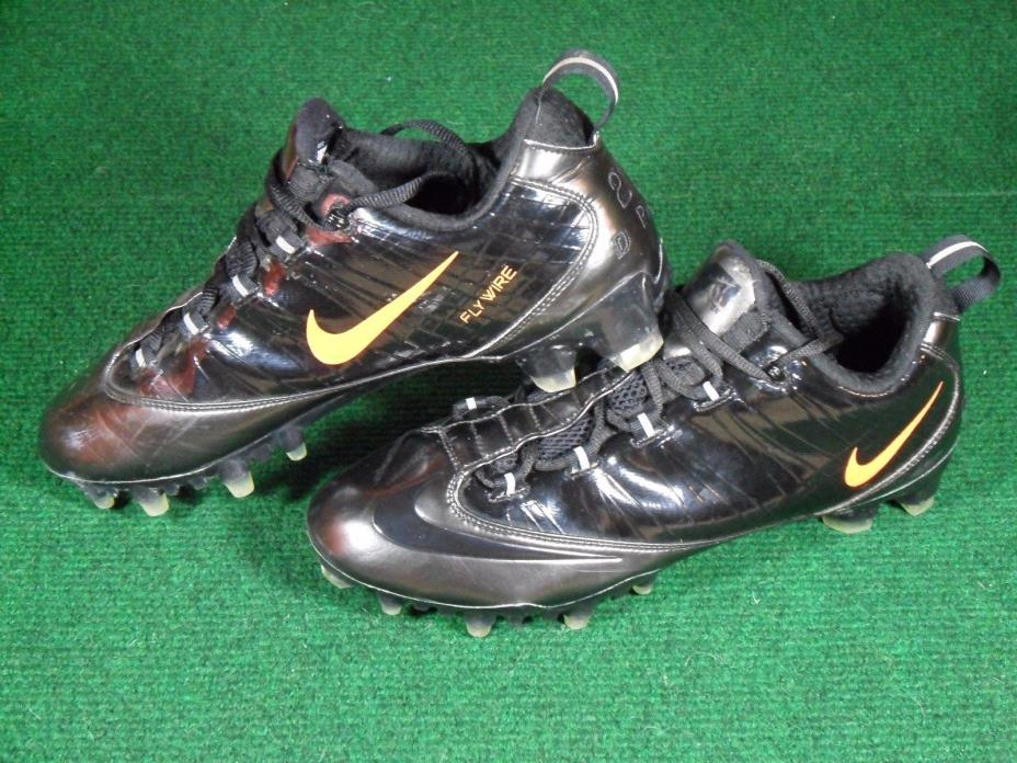 886b51c7cf2f Used Nike ID Zoom Vapor Carbon Fly TD Low Football Cleats Black Anthracite  10.5
