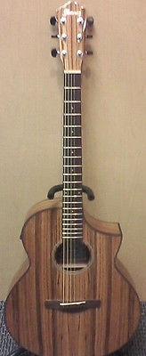 Ibanez AEW 40ZW-NT Exotic Tonewood Acoustic/Electric Guitar