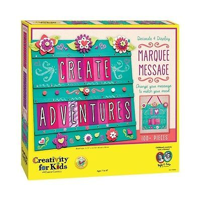 Marquee Message - Craft Kit by Creativity For Kids (6119)