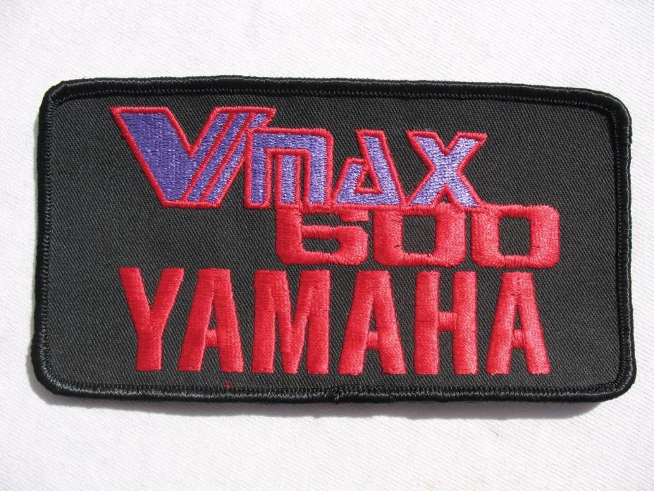 Vintage NOS YAMAHA Vmax 600 SNOWMOBILE Patch! SRX PHAZER LOOK! Motorcycle