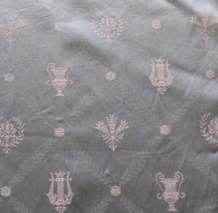Vintage French Damask Fabric Sample 52