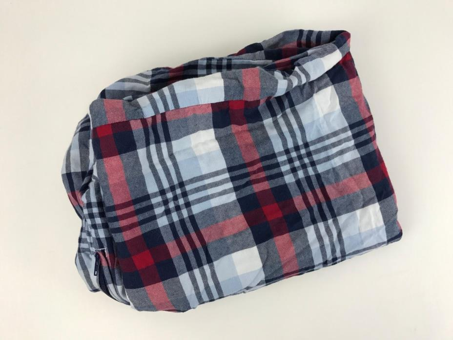 Pottery Barn Plaid Duvet For Sale Classifieds