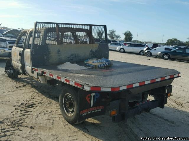 FLATBED from 06 Chevy 1ton Dually